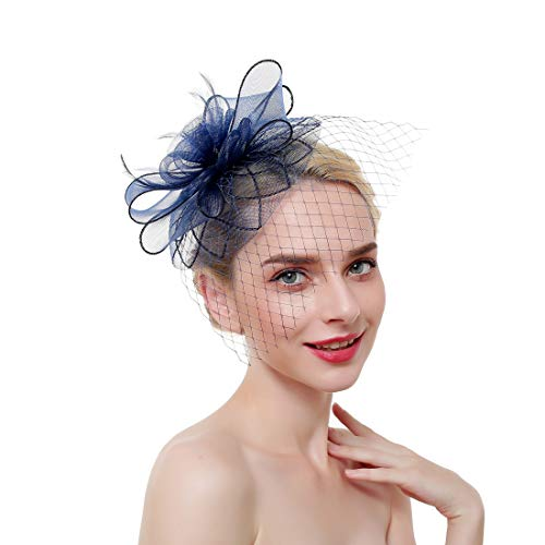 Women's Kentucky Derby Hat Bridal/Bridesmaid Fascinator for Church Royal Wedding Cocktail ()