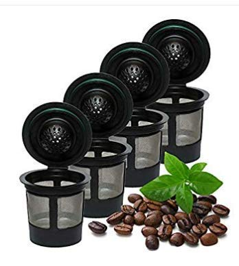 Rugado Reusable solo single cup Keurig filter k-cup stainless steel coffee filter