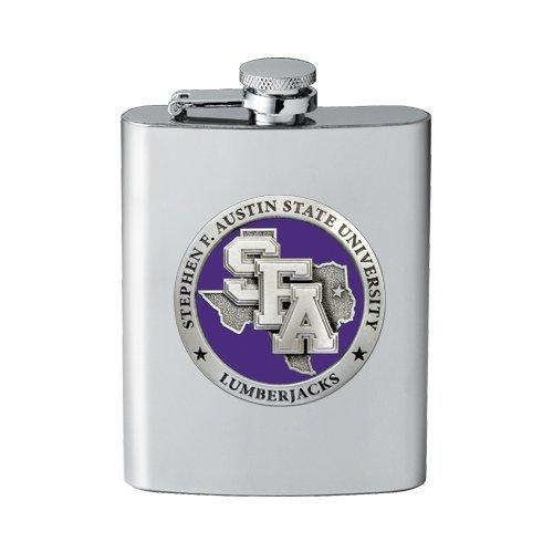 1pc, Pewter Stephen F. Austin University Flask