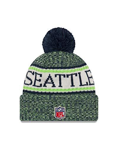 A Gorro Tejido RAMS Angeles Seahawks Seattle Los NEW con ERA Azul pompón NFL rEqrwgxf