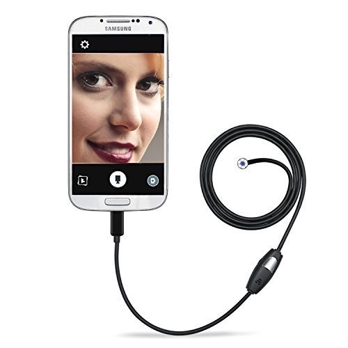 Endoscope Camera,Depstech¨ Micro USB Borescope Waterproof Inspection Camera for Laptops and USB OTG Compatible