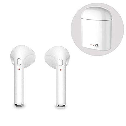 Auriculares Bluetooth inalámbrico Cascos bluetooth con caja de carga Cascos Bluetooth con reducción de ruido Micrófono