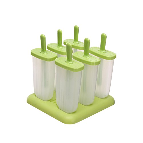 Popsicle Molds Set 6 Ice Pop Makers