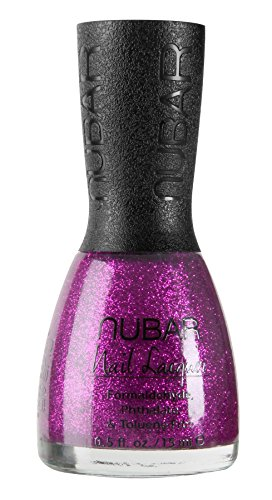 Nubar Sparkles Collection - Petunia Sparkle (G186) by Nubar Lacquer