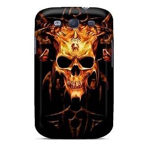 LauraAdamicska Samsung Galaxy S3 Excellent Cell-phone Hard Cover Custom Realistic Metallica Series [FYh11371zRiE]