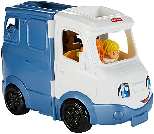 41oPefs28kL - Fisher-Price Little People Songs & Sounds Camper