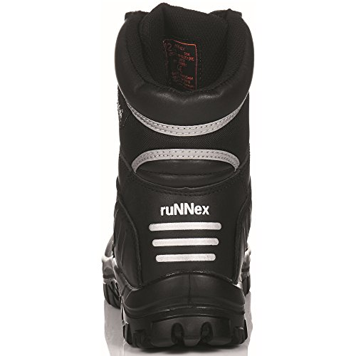 "ruNNex invernali stivali di sicurezza S3 ""5330 Winter Star con fodera in Thinsulate, colore: nero, Nero, 5330"