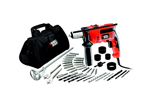 Black & Decker CD714CREW2 - Taladro de martillo 710 W