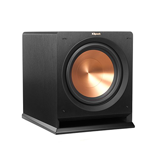 "Klipsch Reference Series 12"" 300W Powered Subwoofer Black R-112SW"
