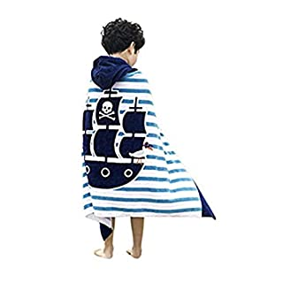 """JAMORGANIC Hooded Towels for Kids 