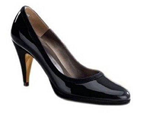 Ashley Brooke Pumps - Zapatos de Vestir de cuero Mujer negro - negro