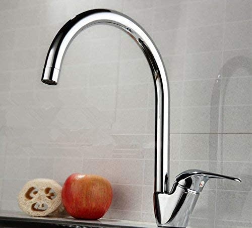 Yadianna Bathroom Sink Mixer Tap Stainless Steel Hot and Cold Water Taps for Bathroom Sink