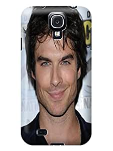 Faustino Olea Colorful hybrid tpu skin cover case with cartoon for Samsung Galaxy s4 (Ian Somerhalder)