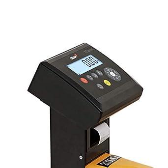 Transpaleta con bascula para palets 2000Kgx1Kg con Impresora ...