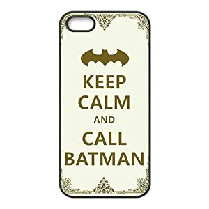 Simple motto call Batman Cell Phone Case for iPhone 5S