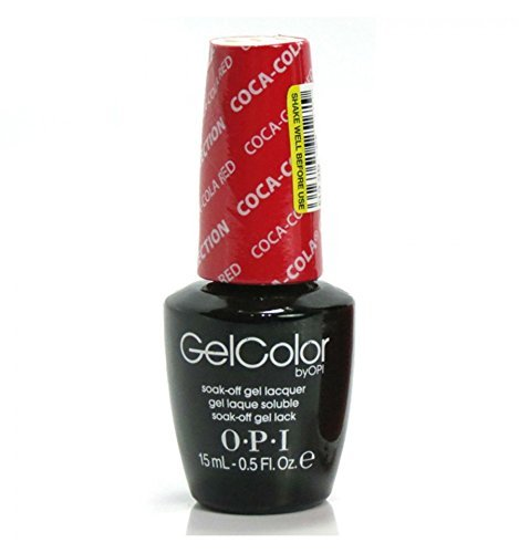 OPI Gel Color, Coca-Cola Red, 0.5 Ounce OPIG0087