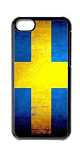 HeartCase Hard Case for Apple iPhone 5C ( Sweden flag ) wangjiang maoyi