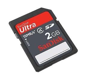 SanDisk Ultra 2 GB SD Flash Memory Card 15MB/s SDSDH-002G-U46