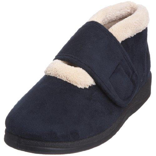 Padders Silent, Zapatos De Estar Por Casa Para Mujer Azul (Navy)
