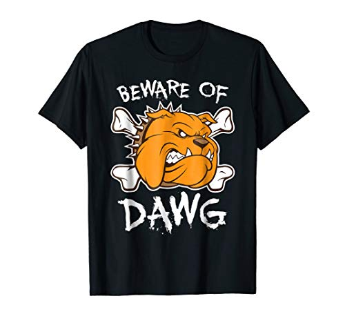Beware of Dawg T Shirt - Cleveland Football T Shirt (Browns Pound Dawg Cleveland)