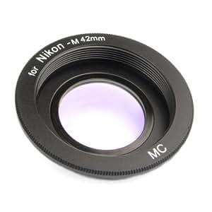 Anillo adaptador M42 - Nikon - Enfoque Infinito