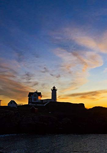 Nubble Lighthouse Sunrise 3a 11x14 matted Photograph