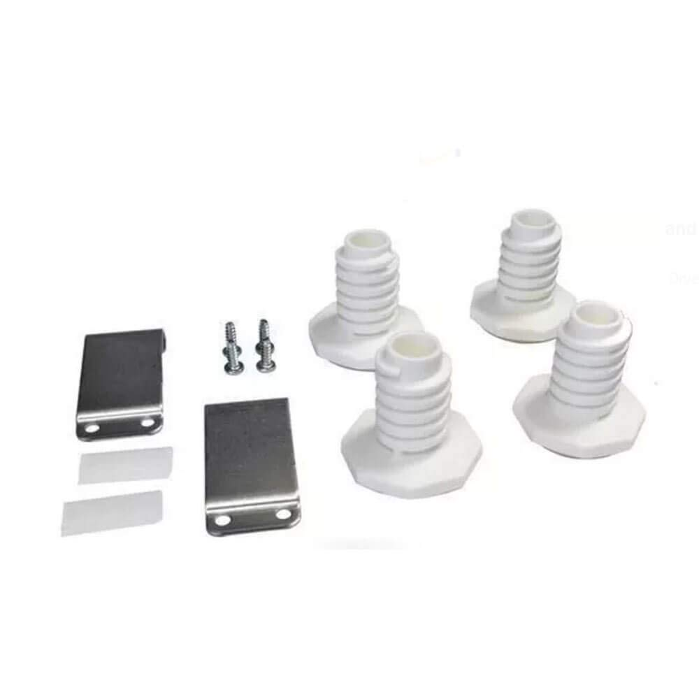 Lifetime Appliance W10869845 Stacking Kit for Standard & Long Vent Whirlpool Washer & Dryer