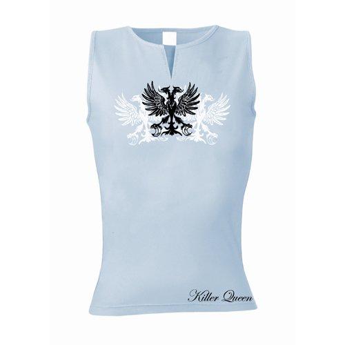 T-Shirt Killer Queen (Femme) - Adler - Taille S - Bleu - Bleu Clair