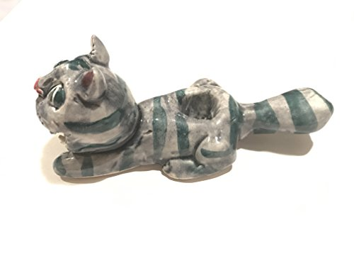 (Freedom Handmade Tobacco Pipe CAT (Blue))