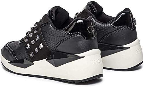 Guess Scarpe Donna Sneakers con Zeppa FL8TILELE12 Nero Taglia 35 Nero