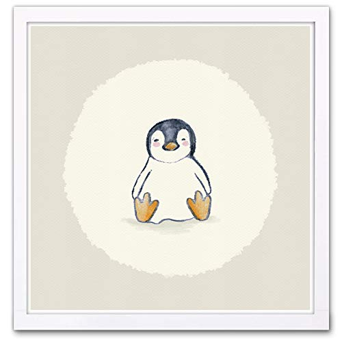 Wynwood Studio Animals Framed Wall Art Prints 'Penguin' Home Décor, 13