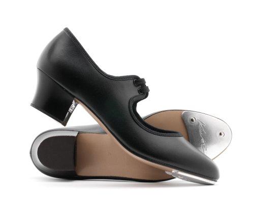 Par De Tailles Des Pu Filles 5 Uk Cubain Talon Dancewear taille Danse Dames Noir Tap 3 Les Katz Chaussures Toutes P864q5