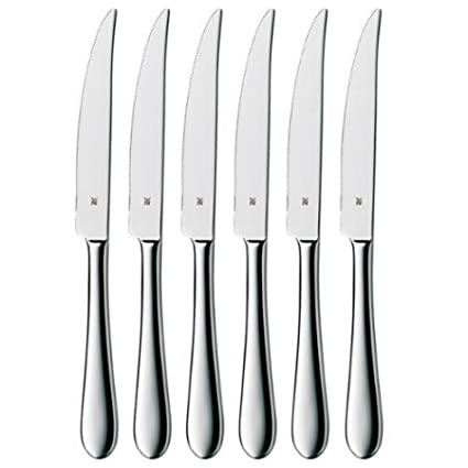 Amazon.com: WMF Signum Stainless Steel Steak Knives (set of ...