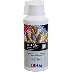 Red Sea Fish Pharm ARE22053 Reef Colors Potassium Supplement-B for Aquarium, 500ml