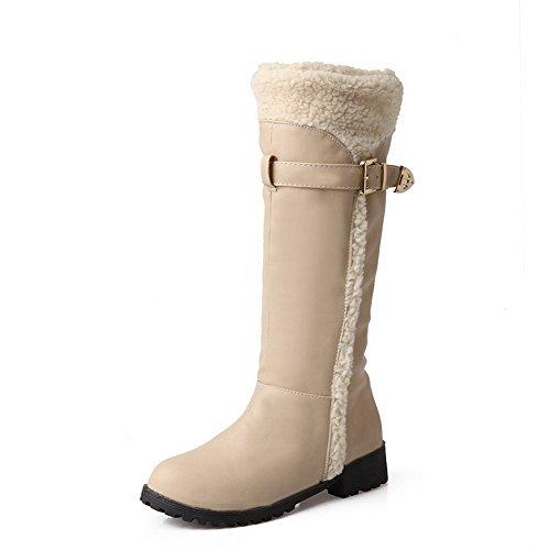 Donna Boots 1to9 1to9 Beige Snow Snow qvfIOxwv