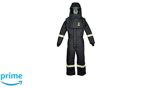 TCG65 Series Arc Flash Hood & Coverall Suit Set: Amazon.com ...