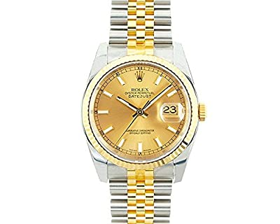 Rolex Datejust swiss-automatic mens Watch 116233 (Certified Pre-owned)