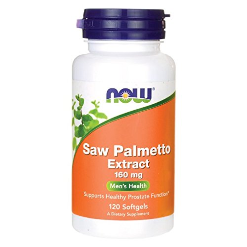 Now Foods Saw Palmetto 160 mg 120 Softgels