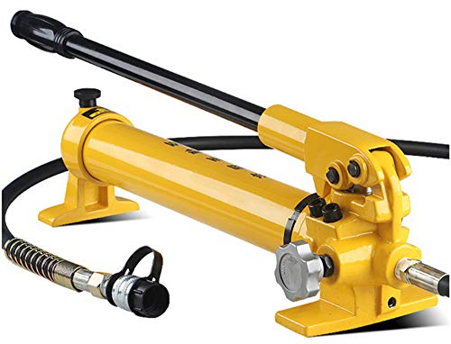 NEWTRY CP-700 Manual Hydraulic Hand Pump Single Speed 9947psi for Separate Type Hydraulic Tool (without oil gauge)