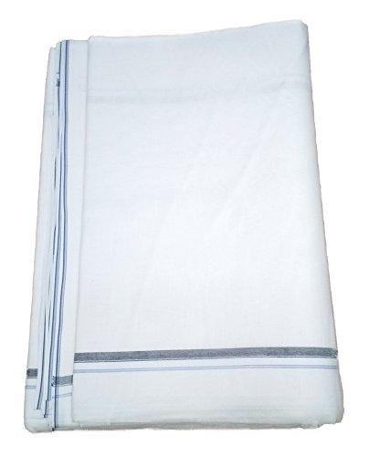 paramsukj Men's white Cotton Dhoti Size Kurta Royal free B7wOII