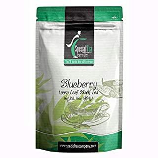 Special Tea Company Organic Blueberry Black Tea, Loose Leaf 16 oz.