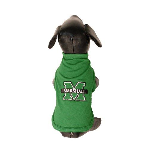 NCAA Marshall Thundering Herd Cotton Lycra Dog Tank Top, Tiny