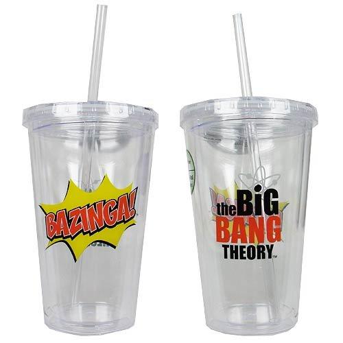 The Big Bang Theory Bazinga Travel - Bazinga Travel Mug