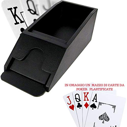 World Mark Porta Carte Poker da Gioco 215272 Professional Deluxe per Blackjack.