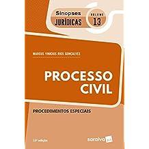 Processo Civil. Procedimentos Especiais - Coleção Sinopses Jurídicas 13