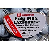Poly Max Extremes Extra Golf Driving Distance package of 18