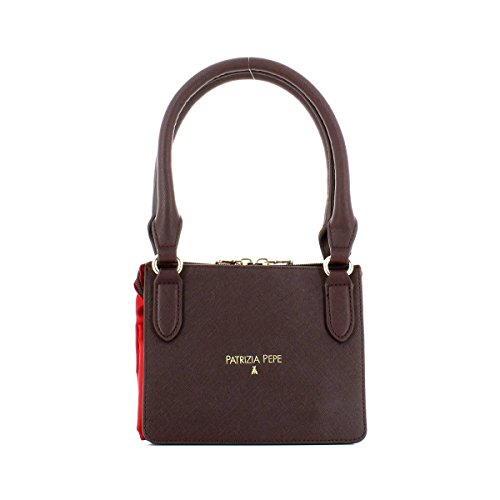 Patrizia Pepe Handbag For The Woman In Red Fabric