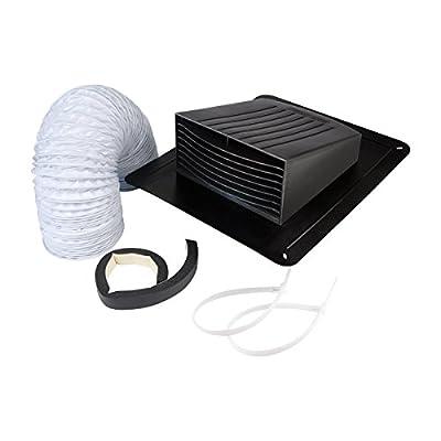 "Dundas Jafine EXRT Bathroom Fan Vent Kit - Roof Style, 4"""