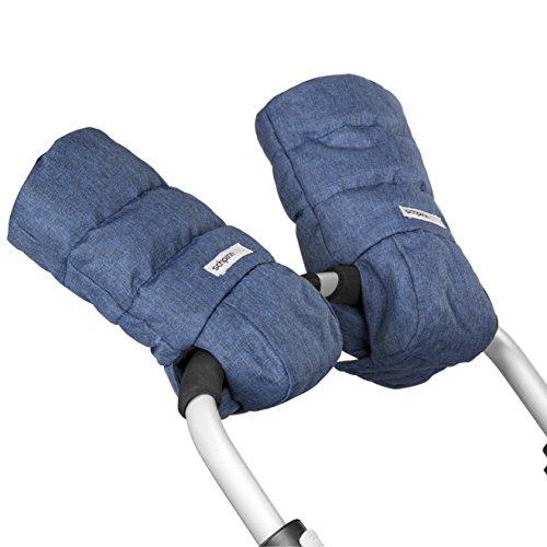 Top stroller hand muffs for women