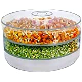 DFS Premium Sprout Maker 3 Containers (Hygienic, Healthy and Effective)